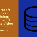 microsoft access training, microsoft access video training, how to create a report in access using sql