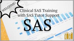 clinical sas training,sas online tutor