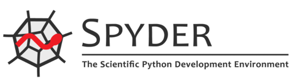 spyder ide logo, might not be the best python ide for data science for new users who want to get going quickly.